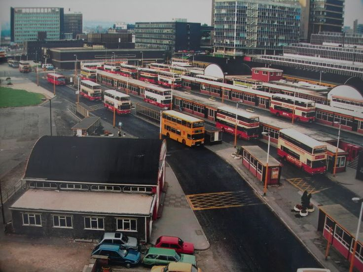 Sheffield Interchange in the 80s  - also known as Pond St Bus Station to locals.