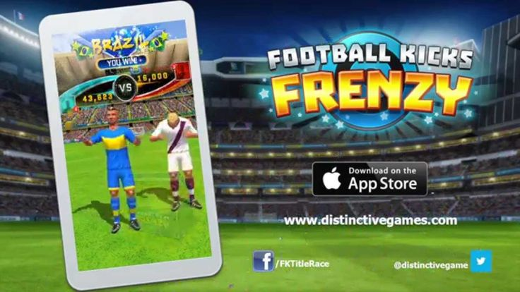 Have a looksee at the trailer for our brand new #Football #game, Football kicks Frenzy. It's free to play and available on The App Store now fnky.link/fkfrenzy