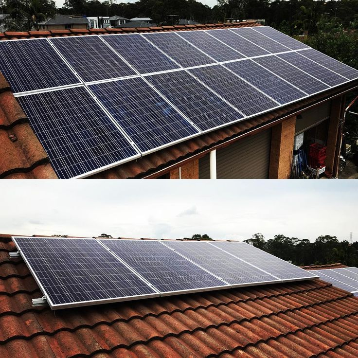 Starting our week right with a 5kw solar installation luckily the weather held out  #Solar #RenewableEnergy #GoGreen #CleanEnergy #Electrical #Electrician #Sydney #Australia