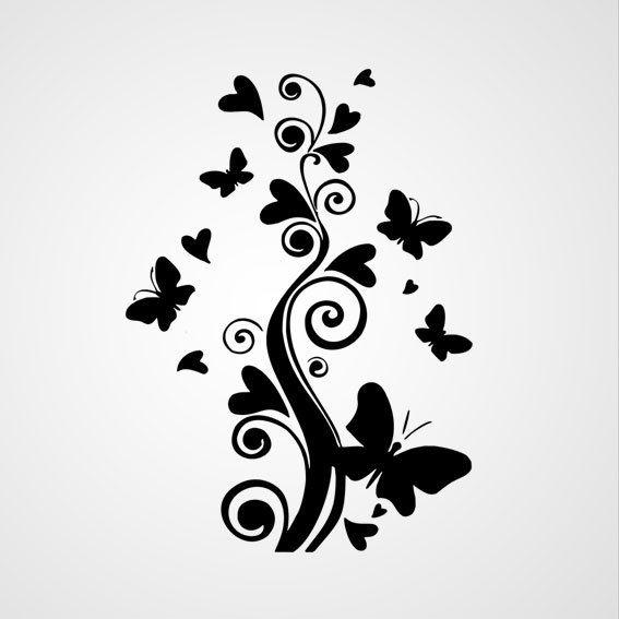 Boom met vlinders 2