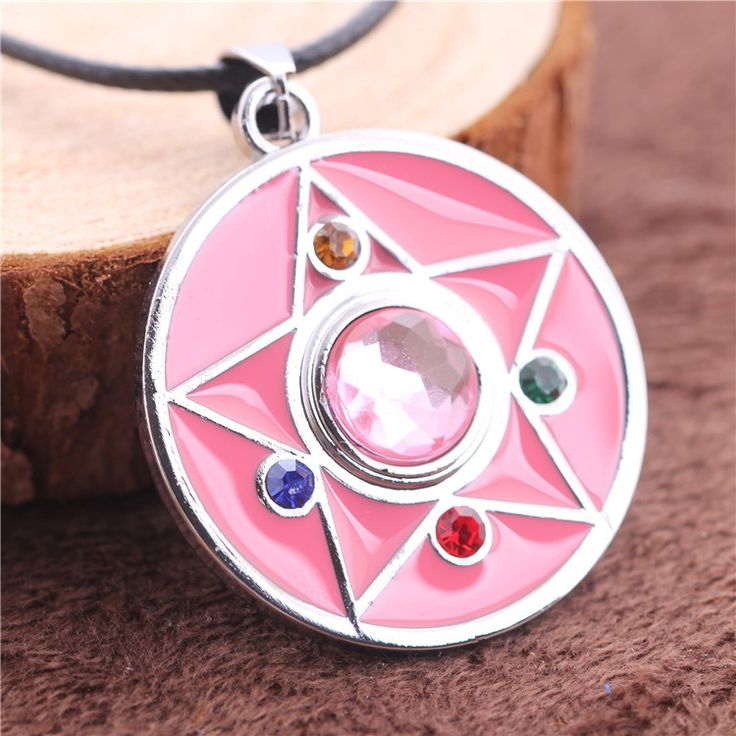 Sailor Moon Power Necklace Pink Color Pendant High Quality Gift For Girls //Price: $30.00  ✔Free Shipping Worldwide   Tag your friends who would want this!   Insta :- @fandomexpressofficial  fb: fandomexpresscom  twitter : fandomexpress_  #shopping #fandomexpress #fandom