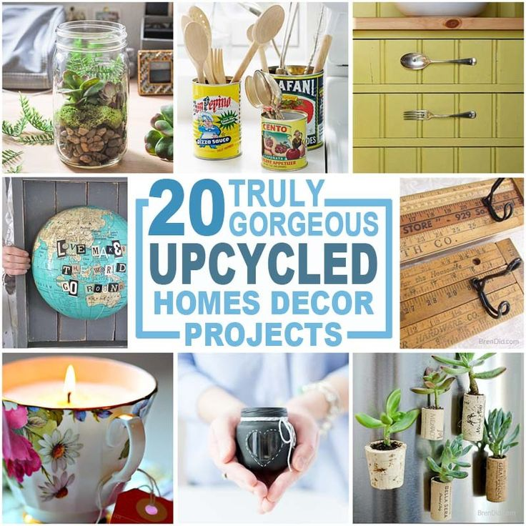 20 Ways To Spiff Up Your Backyard For Spring: 1000+ Ideas About Recycled Home Decor On Pinterest