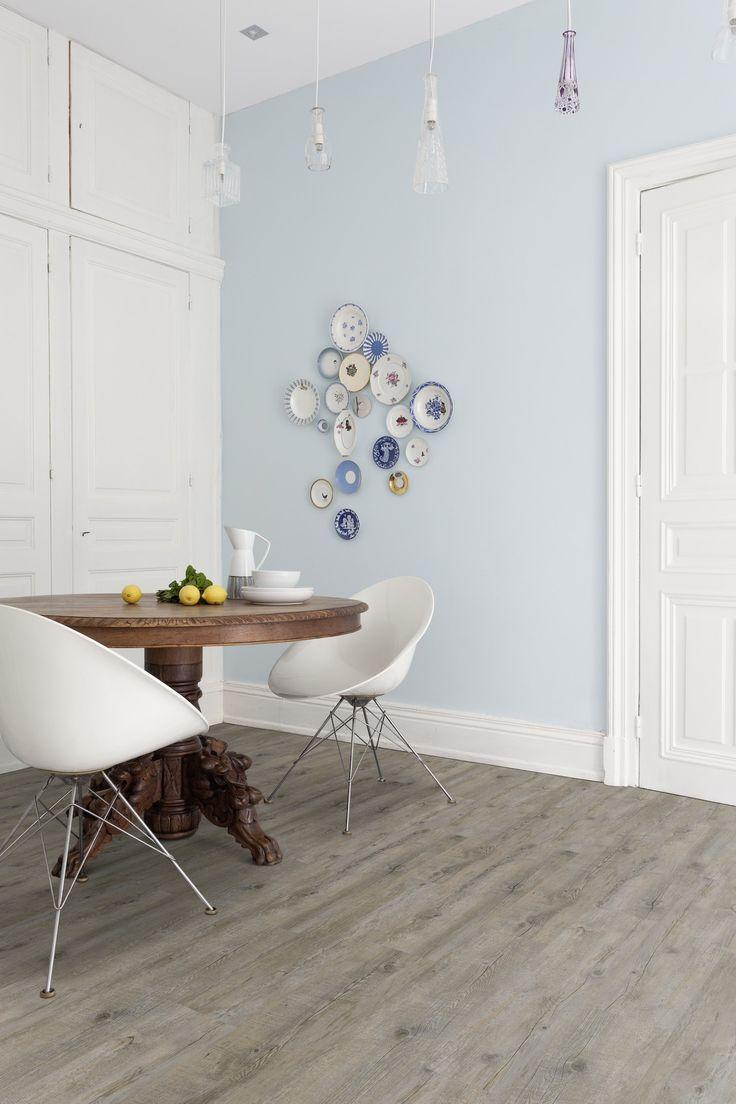 Pvc vloer met houtlook. Grey pecan XL (Limited edition) Zelfklevende pvc vloer…