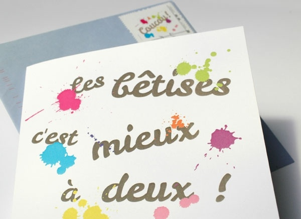 Exceptionnel 151 best Faire-part de naissance images on Pinterest | Invitation  IL41