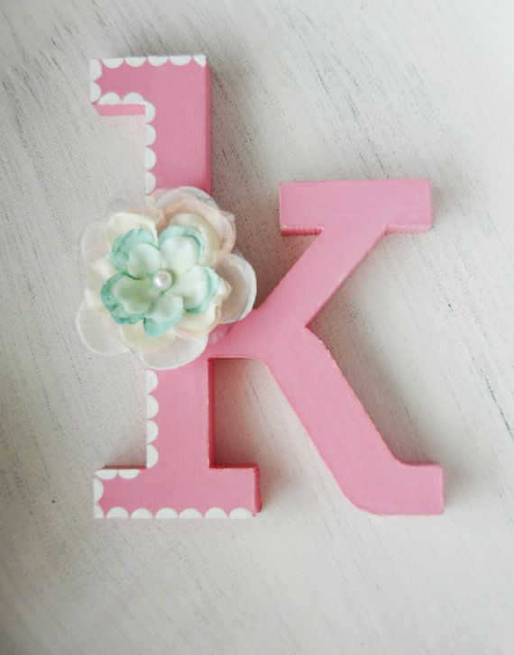 Free standing wooden letter mdf letter 10cm/4 by LoudFairy on Etsy