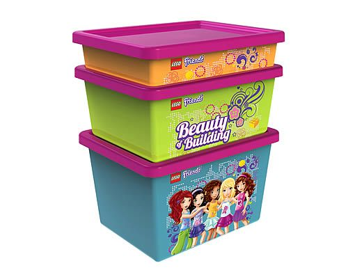 LEGO Friends - Sorting System Storage Boxes - Home Storage Systems From Store