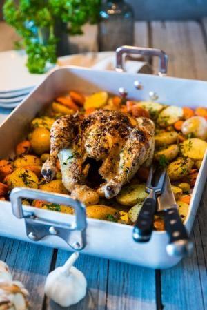 Herregud så gott!! Plussade på med avkok från kyckling och grönsaker i såsen, perfekt.