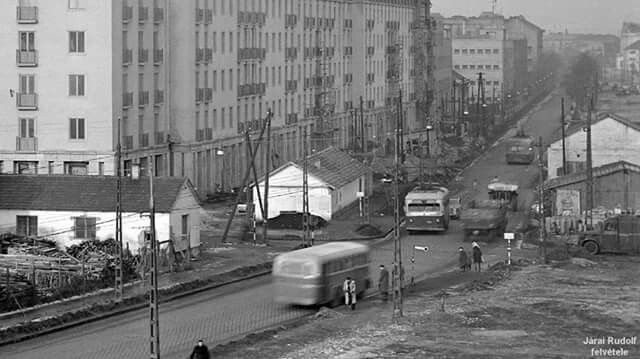 1958. Hungária körút az Egressy útnál