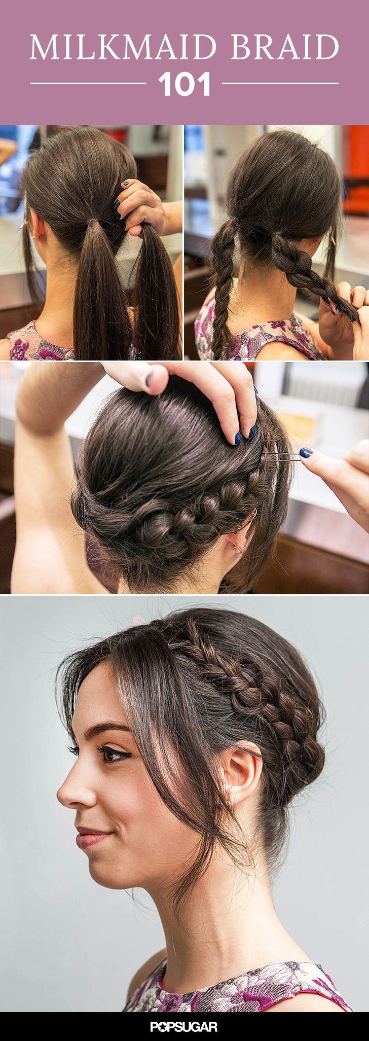 If you can create a simple braid, you can do this!