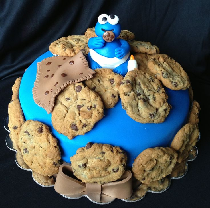 cookie monster baby shower cake renee 39 s wicked good cakes facebook