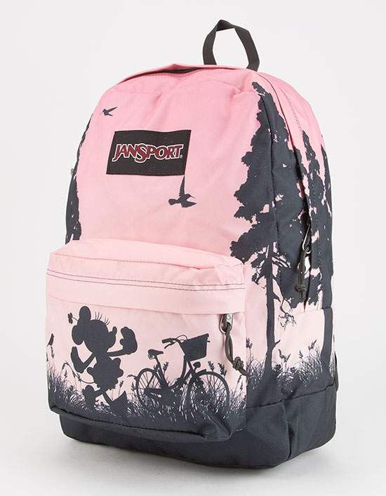 JANSPORT x DISNEY High Stakes Super Cute Minnie Backpack ...