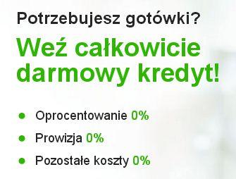 Getin Bank i jego oferta pożyczki za 0 zł w kwocie 2000 zł na 12 miesięcy.