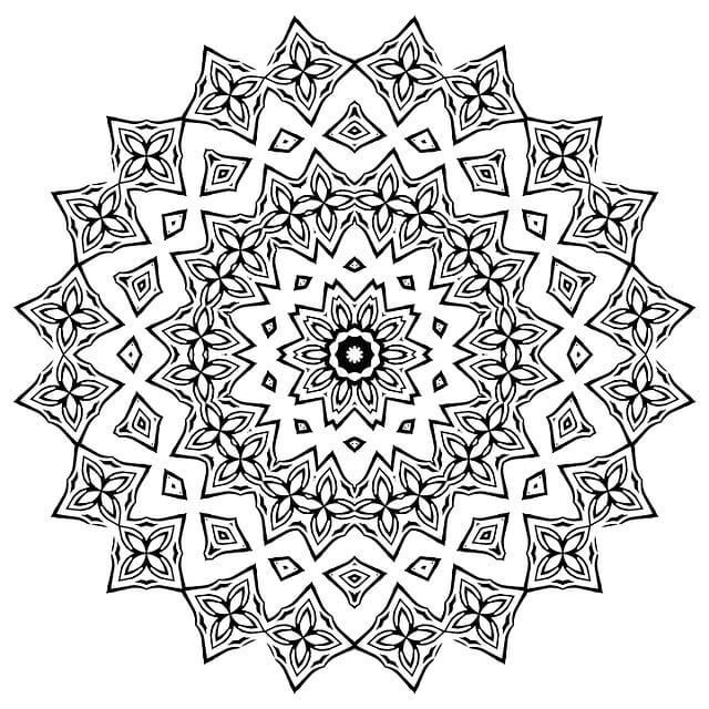 297 Best Images About Coloring Mandala On Pinterest