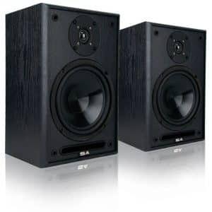 8. Sound Appeal 6.5 Inch Bookshelf Speakers