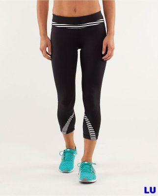 Lululemon Outlet Crops pants balck & white : Lululemon Outlet Online, Lululemon outlet store online,100% quality guarantee,yoga cloting on sale,Lululemon Outlet sale with 70% discount!   $39.79