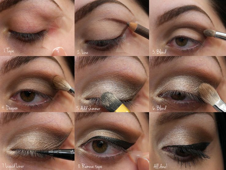 Shimmer Eyeshadow Tutorial with Stila & Mac (With images ...