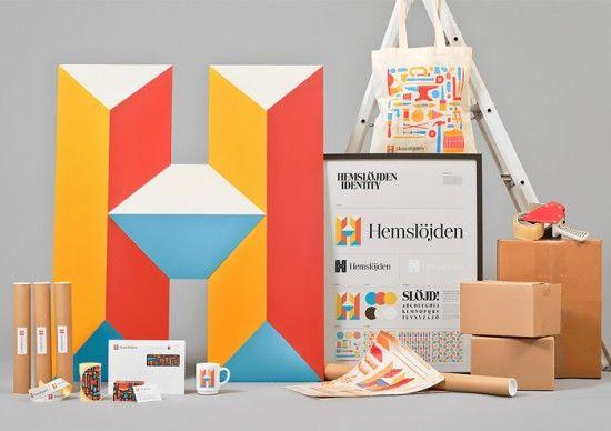 Hemslöjden Branding by Snask | Inspiration Grid | Design Inspiration