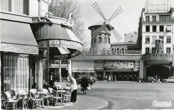 Le Moulin Rouge annees 1950                                                                                                                                                                                 Plus
