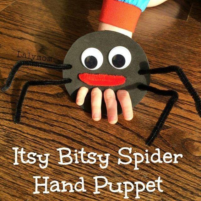 #Parmak kukla #eglenceli örümcek #itsy bitsy spider