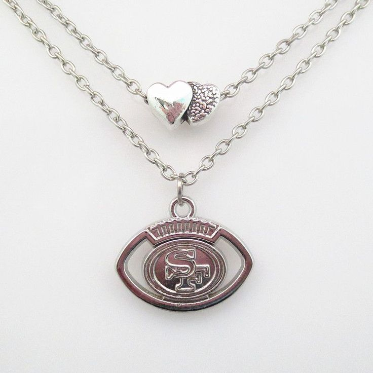 NFL San Francisco 49ers Football Team Necklace