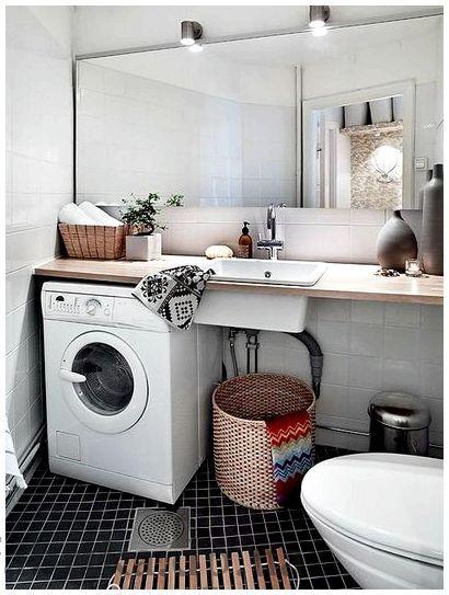Ванная комната в скандинавском стиле - быстро и качественно (ванная, скандинавский, стиль, именно поэтому)
