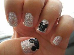 Disney!! Honey moon and/bridal shower nails!