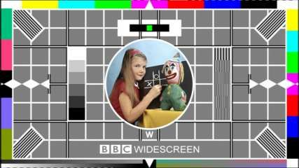 Updated BBC test card for Widescreen 1999-