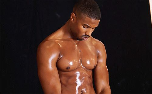 Pin for Later: Here Are 19 Reasons Michael B. Jordan Should Be Your Man Crush Monday Every Day When He Looked Like an Adult Slip 'n Slide