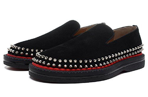 Fredapoitiers Spikes Suede Men's Flat Shoes (US 7 / 40 EU... https://www.amazon.com/dp/B06Y13WYKS/ref=cm_sw_r_pi_dp_x_-Aggzb7JTM5A1