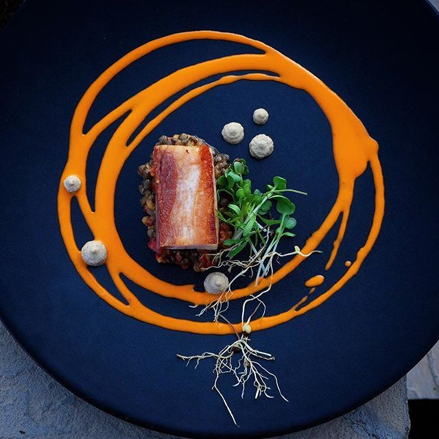 Foodstar Karlo Evaristo (@karloevaristo) shared a new image via Foodstarz PLUS /// Last Day on The Menu: Porkbelly, Piquillo Yuzu, Chorizo, Lentils, Smoked Eggplant #porkbelly #yuzu #chorizo #lentils #eggplant #foodstarz If you also want to get featured on Foodstarz, just join us, create your own chef profile for free, and start sharing recipes, images and videos. Foodstarz - Your International Premium Chef Network