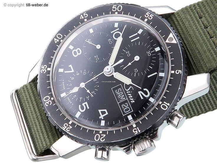 "Sinn ""Chronograph"" Stahl Handaufzug por € 1.290 para vender por um Trusted Seller na Chrono24"