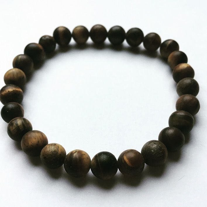 Heren tijgeroog kralen armband. Mannen, man, men, for him, beads, bracelet