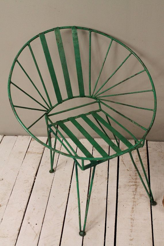 Mid Century Indian Industrial Green Hand by hammerandhandimports, $139.00