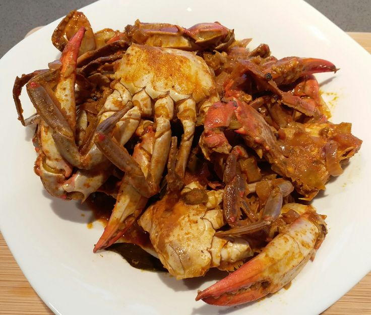 Dungeness crab is great for the world famous Singapore chili crab but the blue crab is king when it comes to curry dishes in Asia. This dish is close to my heart as my mother used to cook it when I…
