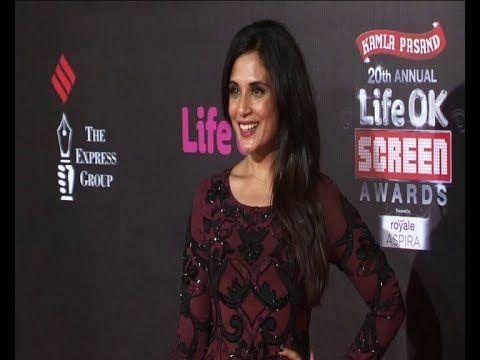 Richa Chadda | Red Carpet OF LIFE OK SCREEN AWARDS 2014.