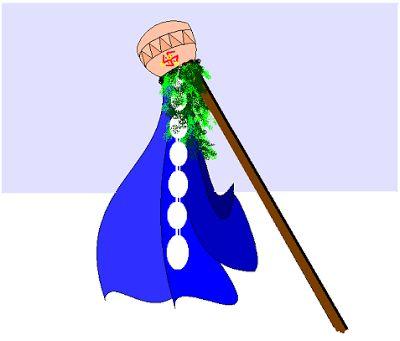 A Gudi made for Gudi Padwa,  http://bit.ly/1VEb6Yy