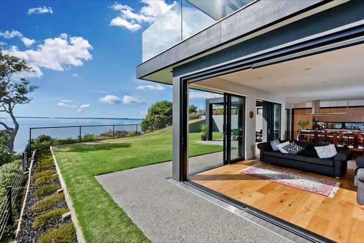 A Modern Two-Storey Dwelling Inspiring Calmness in New Zealand ...