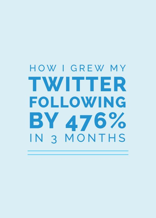 How I Grew My Twitter Following by 476% in 3 Months - Elle & Company