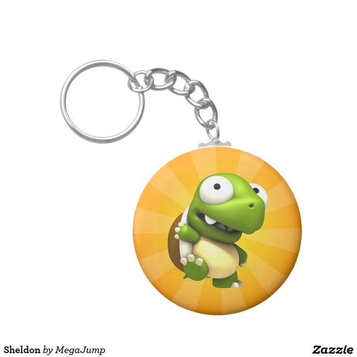 Sheldon Basic Round Button Keychain. Regalos, Gifts. #llavero #keychain