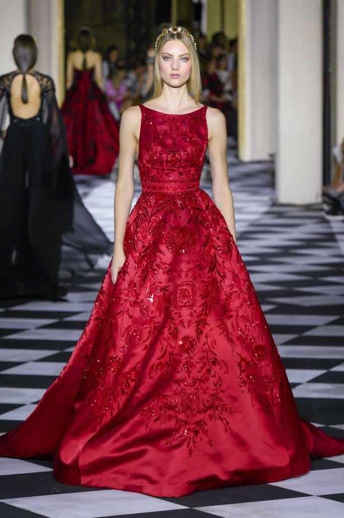 Zuhair Murad Haute Couture Fall 2018 Runway