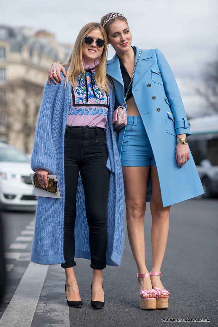 Уличная мода Парижа осень-зима 2017-2018
