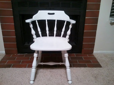 Painting Old Chairs