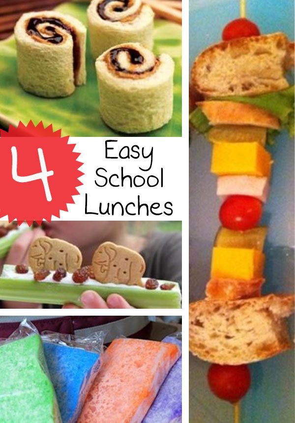 These easy school lunch ideas will be a lifesaver for back to school time. Even picky eaters will be delighted by these fun lunch recipes.