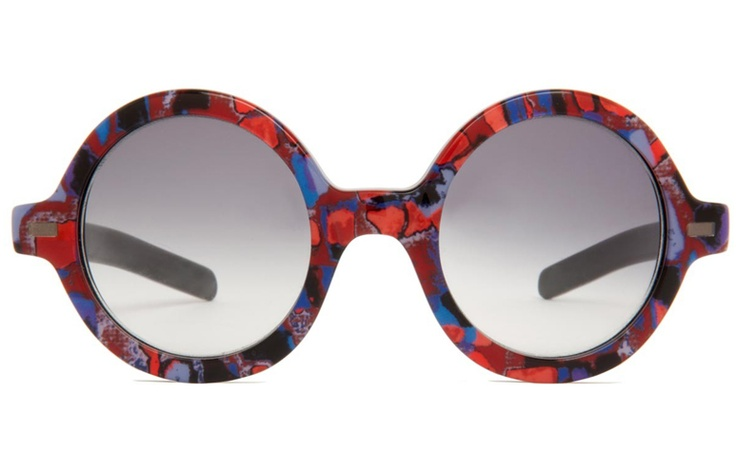 Warby Parker X Suno, The Wendel in Stained Glass Print