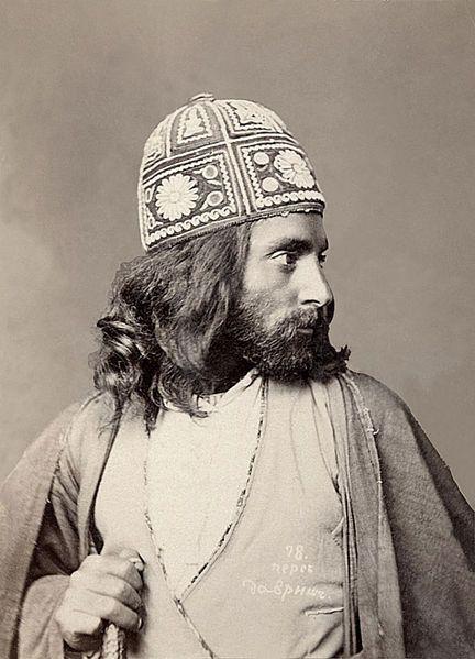 Persian 1880-1890. Alexandre Roinashvili. Tbilisi History Museum Collection