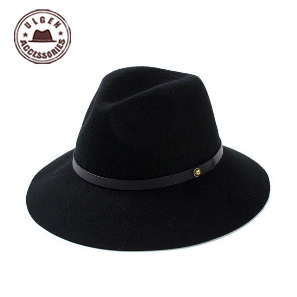2015 sombreros gorras elegante wollfilz hut floppy cloche frauen große herren und damen breiter krempe hut cowboy für hyj155g3200(China (Mainland))