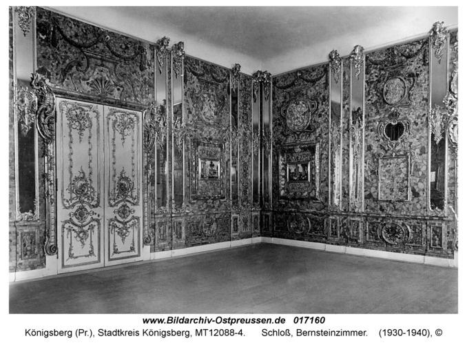 Königsberg, Schloß, Bernsteinzimmer Opis Einsender: Igor Mironov Data zrobienia zdjęcia 1930 - 1940