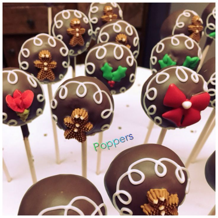 Cake Pops Christmas Pinterest
