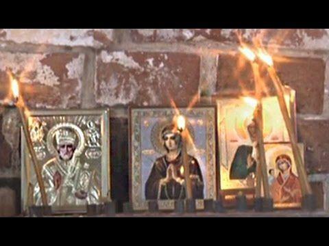 Ангелы в полуразрушенной церкви Иваново ни от кого не прячутся - YouTube