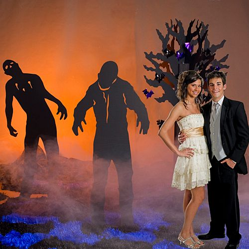Throw a Zombie Prom! What is this Zombie Prom we speak of? We're talking about taking your typical high school prom and zombifing it with costumes.